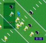 Super Play Action Football SNES On defense