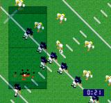 Super Play Action Football SNES On offense
