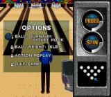 Brunswick World: Tournament of Champions SNES In-game options