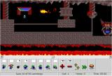 DHTML Lemmings Browser The grim level 6: A task for blockers and bombers