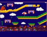 Lemmings 2: The Tribes Amiga First level begins