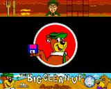 Yogi's Big Clean Up Amiga Loading screen
