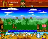 Yogi's Big Clean Up Amiga Fish attack