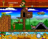 Yogi's Big Clean Up Amiga Bees attack Yogi