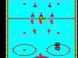 Championship Hockey SEGA Master System Players all set up to start the game.