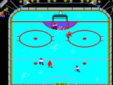 Championship Hockey SEGA Master System The first goal of the game, by the opponent.