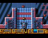 Galactic Warrior Rats Amiga Start of level 1