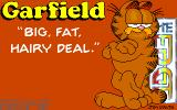 Garfield: Big, Fat, Hairy Deal Amiga Title screen