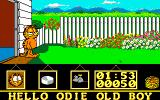Garfield: Big, Fat, Hairy Deal Amiga Exiting house