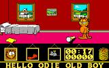 Garfield: Big, Fat, Hairy Deal Amiga Jon's bedroom