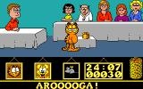 Garfield: Big, Fat, Hairy Deal Amiga Pizza party