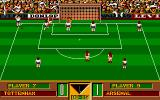 Gazza's Super Soccer Amiga Throw the ball