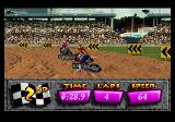 Motocross Championship SEGA 32X Tight Turn