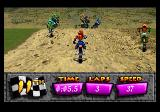 Motocross Championship SEGA 32X Punch other riders, but only to your right.