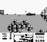 The Hunt for Red October Game Boy You have eliminated the cruiser, but enemy torpedoes are still after you...