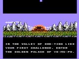 Tiles of Fate NES The introduction sequence