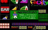 Fruity Atari ST Instructions