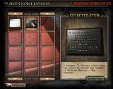 7NK: The Seven Noble Kinsmen - A Shakespearean Murder Mystery Browser Inventory Screen