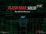 Flash Gear Solid VR: The NIKITA Missions Browser Main menu