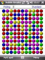 Bubblet Windows Mobile Starting the game (WM6)