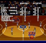 Tecmo Super NBA Basketball SNES Half time show
