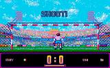 Rick Davis's World Trophy Soccer Amiga Shoot for goal
