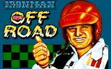 Ivan 'Ironman' Stewart's Super Off Road Amiga Title screen