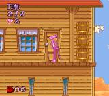Pink Goes to Hollywood SNES This door can be entered.