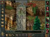 Baldur's Gate Windows Walking under a waterfall searching for a lost cat. Not all side-quests are epic