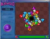 Bejeweled Deluxe Windows You warp to a new level every time you earn enough points on a board.