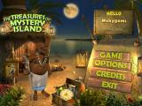 The Treasures of Mystery Island Windows Main menu