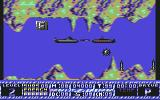 The Hunt for Red October Commodore 64 Shooting the submarine in front of you...