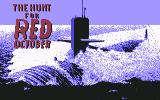 The Hunt for Red October Commodore 64 Title Screen