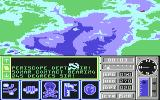 The Hunt for Red October Commodore 64 Strategical Map...