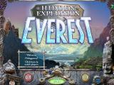 Hidden Expedition: Everest Windows Main menu