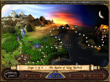 Magic Match: Journey to the Lands of Arcane Windows The main map of your quest