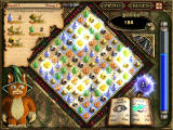 Magic Match: Journey to the Lands of Arcane Windows The game board after a reshuffle spell has been cast