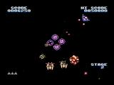 Gyruss NES Destroy the enemies at the center of the screen
