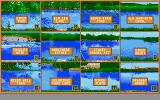 The Computer Coarse Angler Atari ST Select your desired fishing location