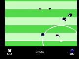 Quattro Sports NES Starting a game (Soccer Simulator)