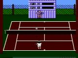 Quattro Sports NES Gameplay (Pro Tennis Simulator)