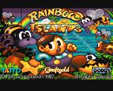 Rainbow Islands Amiga Title screen #1