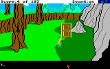King's Quest II: Romancing the Throne Amiga The magic door.