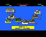 Rainbow Islands Amiga Level overview