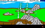 King's Quest II: Romancing the Throne Amiga A snake! I hate snakes!