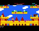 Rainbow Islands Amiga Level 1 starting point