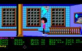 Maniac Mansion Amiga Wendy checks out upstairs.