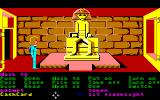 Zak McKracken and the Alien Mindbenders Amiga An ancient statue on Mars.