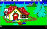 King's Quest Amiga The candy house.