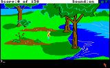 King's Quest Amiga Near a nice little lake.